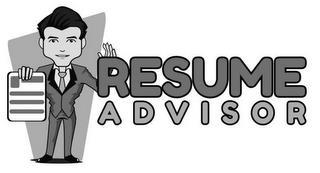 RESUME ADVISOR trademark