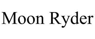 MOON RYDER trademark