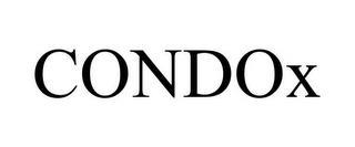 CONDOX trademark