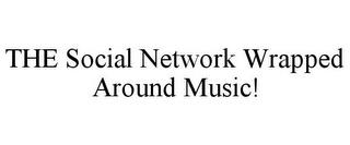 THE SOCIAL NETWORK WRAPPED AROUND MUSIC! trademark