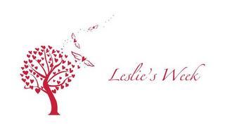 LESLIE'S WEEK trademark