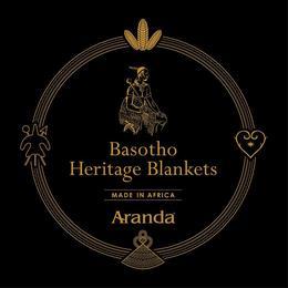 BASOTHO HERITAGE BLANKETS MADE IN AFRICA ARANDA trademark