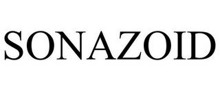 SONAZOID trademark