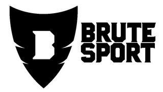 B BRUTE SPORT trademark
