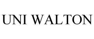 UNI WALTON trademark