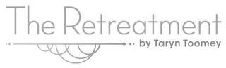 THE RETREATMENT BY TARYN TOOMEY trademark