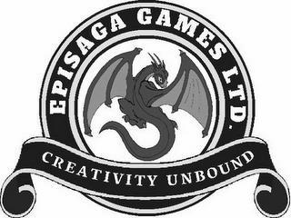 EPISAGA GAMES LTD. CREATIVITY UNBOUND trademark