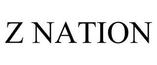 Z NATION trademark