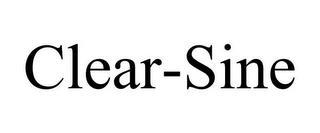 CLEAR-SINE trademark
