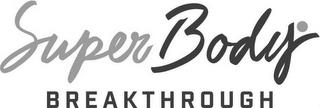 SUPERBODY BREAKTHROUGH trademark