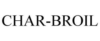 CHAR-BROIL trademark