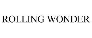 ROLLING WONDER trademark
