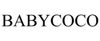 BABYCOCO trademark