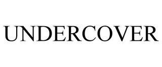 UNDERCOVER trademark