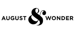 AUGUST & WONDER trademark