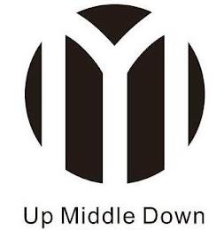 M UP MIDDLE DOWN trademark