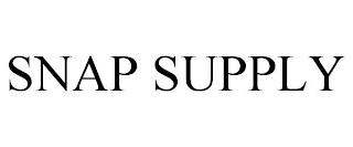 SNAP SUPPLY trademark