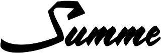 SUMME trademark