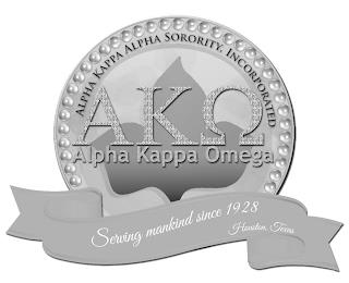 ALPHA KAPPA OMEGA ALPHA KAPPA ALPHA SORORITY, INCORPORATED SERVING MANKIND SINCE 1928. HOUSTON, TEXAS trademark