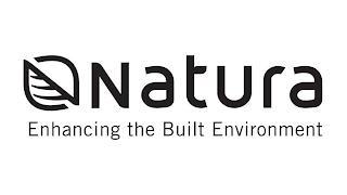 NATURA ENHANCING THE BUILT ENVIRONMENT trademark