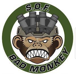 S.O.F BAD MONKEY trademark