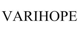 VARIHOPE trademark