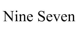 NINE SEVEN trademark