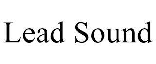 LEAD SOUND trademark