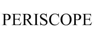 PERISCOPE trademark