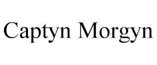 CAPTYN MORGYN trademark