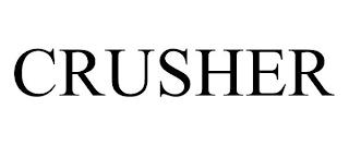 CRUSHER trademark