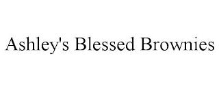 ASHLEY'S BLESSED BROWNIES trademark