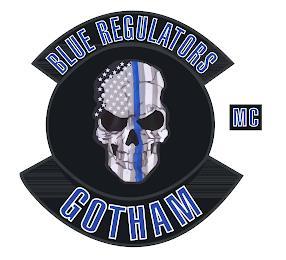 BLUE REGULATORS GOTHAM MC trademark