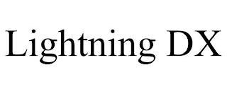 LIGHTNING DX trademark