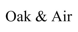OAK & AIR trademark