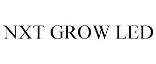 NXT GROW LED trademark