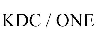KDC / ONE trademark