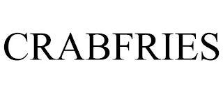 CRABFRIES trademark
