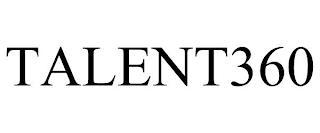 TALENT360 trademark