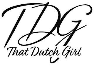 TDG THAT DUTCH GIRL trademark