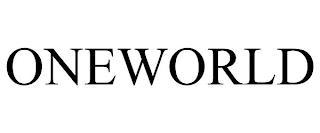 ONEWORLD trademark