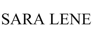 SARA LENE trademark