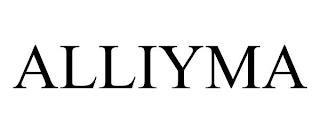 ALLIYMA trademark