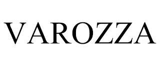 VAROZZA trademark