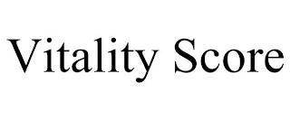 VITALITY SCORE trademark