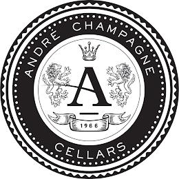 ANDRÉ CHAMPAGNE CELLARS, A, 1966 trademark