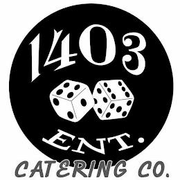 1403 ENT. CATERING CO. trademark