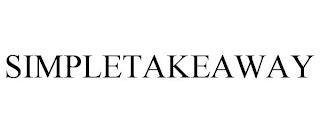 SIMPLETAKEAWAY trademark