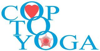 COP TO YOGA PEACE FORCE trademark