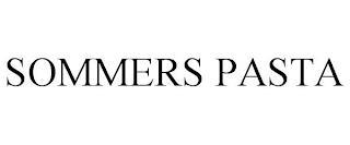 SOMMERS PASTA trademark